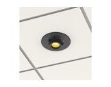 PROLIGHTS • Collerette noire pour kit d'encastrement plafond gamme EclDisplay