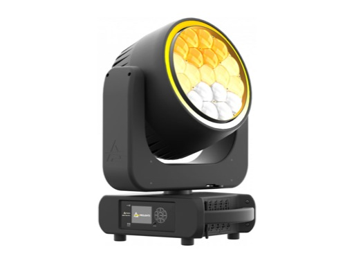 PROLIGHTS • Lyre Wash matricée Astra Wash19Pix LEDs Full RGBW 19x40W, zoom 4-54°