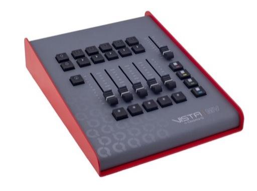 VISTA BY CHROMA-Q • Surface de contrôle VISTA MV + dongle USB 8 192 circuits