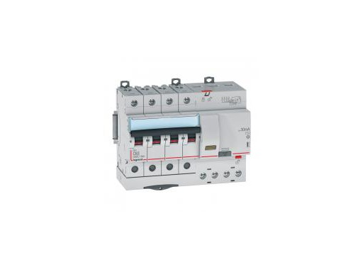 LEGRAND • Disjoncteur Differentiel Tetra,C63A 6000A 30mA