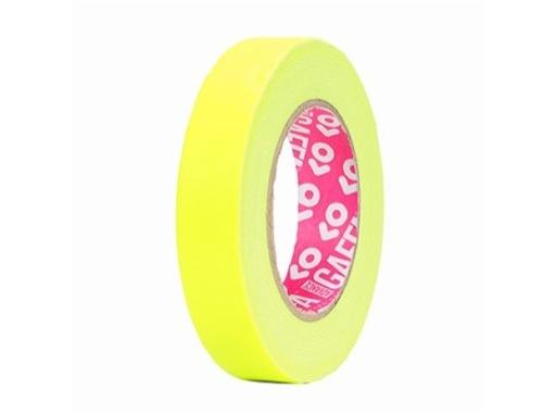 ADVANCE • Gaffer fluorescent jaune 25mm x 25m