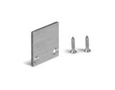 ESL • Embout plein inox pour profilé gamme HR-OPTI-accessoires-de-profiles-led-strip