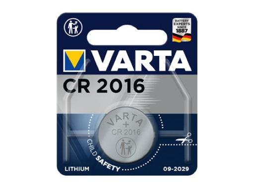 VARTA • 1 Pile bouton lithium 3V 36mAh 10 ohms