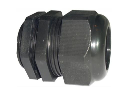 PRESSE ETOUPE • PG11 plastique noir+écrou Ø perçage 19mm