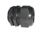 PRESSE ETOUPE • PG29 plastique noir+écrou Ø perçage 37mm-cablage