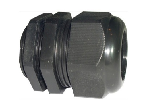 PRESSE ETOUPE • PG36 plastique noir+écrou Ø perçage 47mm