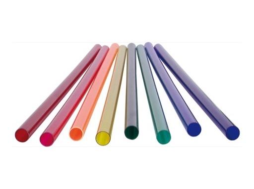 Fourreau rouge • pour tube fluo T8 120 cm