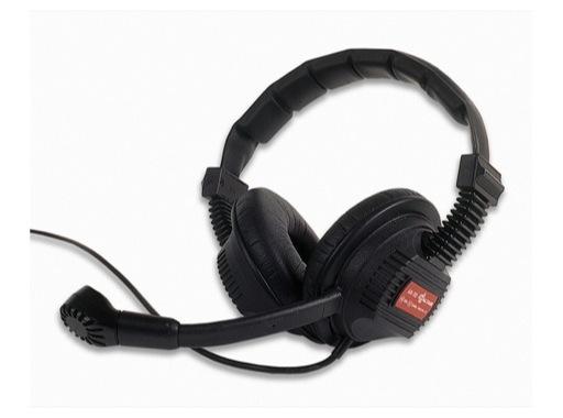 ALTAIR • Casque micro pro 2 oreilles + cable XLR4