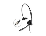 ALTAIR • Casque micro 1 oreille + cable XLR4-audio