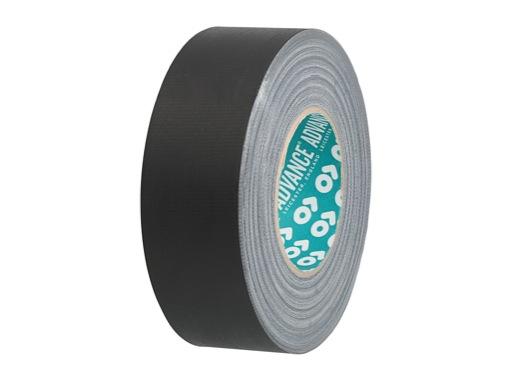 Gaffer ADVANCE mat noir 50mm x 50m 126965