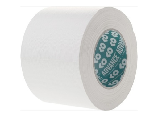 ADVANCE • Gaffer standard blanc 100mm X 50m 161140