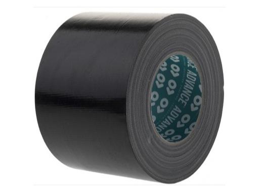 Gaffer ADVANCE AT175 noir 100mm x 50m 119103