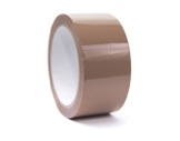 Adhésif PVC Havane emballage 50mm x 66m AT1005 214310 - ADVANCE
