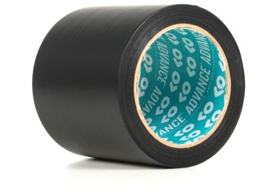 Adhésif AT7 PVC noir 100mm X 33m 163922 - ADVANCE