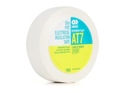 Adhésif AT7 PVC blanc 15mm x 10m 173792 - ADVANCE