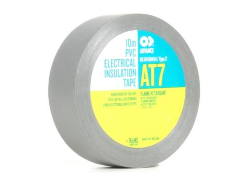 ADVANCE • Adhésif AT7 PVC gris 15mm x 10m 173808
