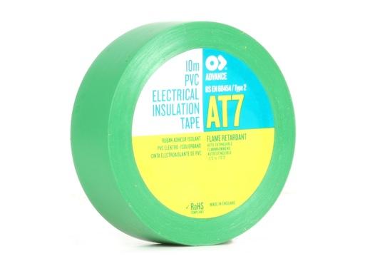 ADVANCE • Adhésif AT7 PVC vert 15mm x 10m 173860