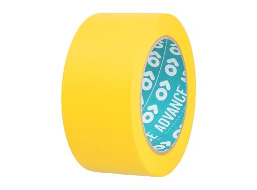 Adhésif AT7 PVC jaune 50mm x 33m 161942 - ADVANCE