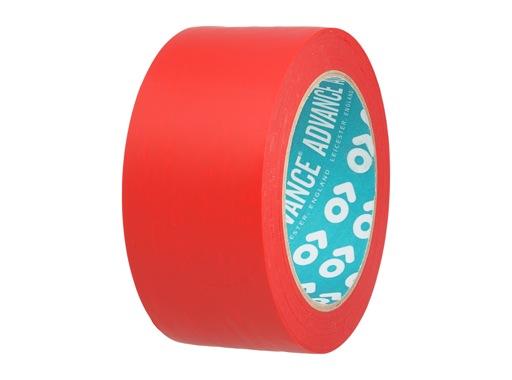 Adhésif AT7 PVC rouge 50mm x 33m 162192 - ADVANCE