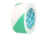Adhésif AT8 PVC signalisation vert/blanc 50mm x 33m 162154 - ADVANCE-adhesifs