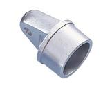 Chape mâle aluminium pour tube Ø 50 épaisseur 2 mm - DOUGHTY-accessoires