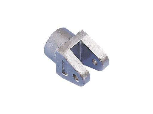 Chape femelle aluminium pour tube Ø 50 épaisseur 2 mm - DOUGHTY