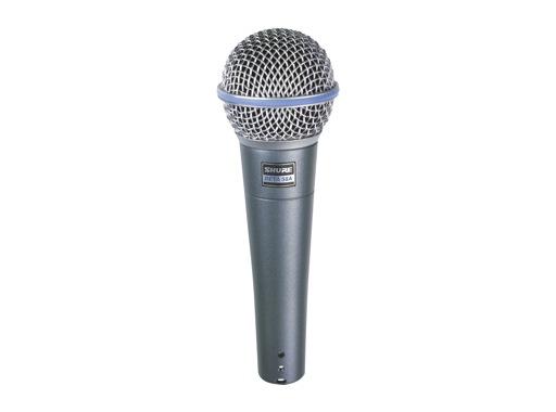 SHURE • Micro voix BETA58A dynamique supercardioïde