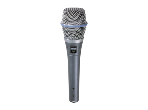 SHURE • Micro voix BETA87A statique supercardioïde