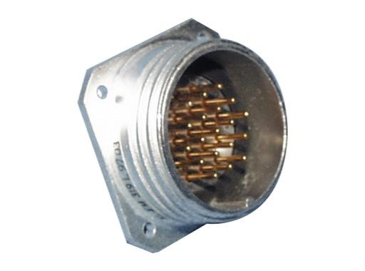 SOCAPEX • Embase mâle sans écrou SLEM319L 10A - 400V