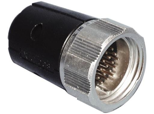 SOCAPEX • Fiche mâle à écrou FMD319L 10A - 400V