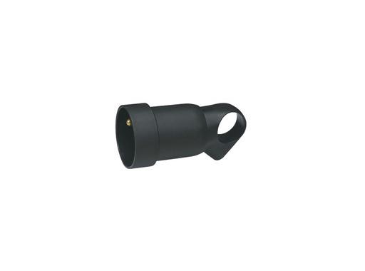 LEGRAND • Fiche femelle 16A plastique noir (annela)