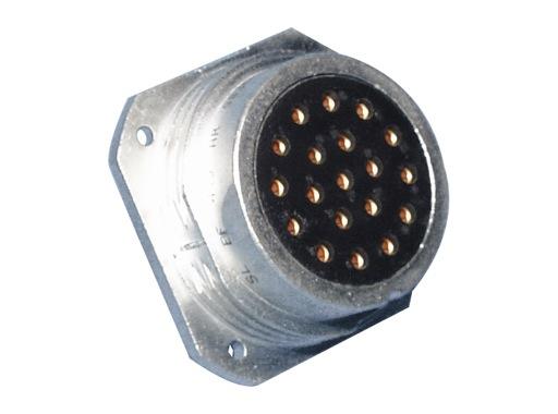 SOCAPEX • Embase femelle sans écrou SLEF419AR 25A - 400V