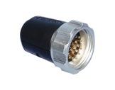 SOCAPEX • Fiche mâle à écrou FMD419AR 25A - 400V-socapex