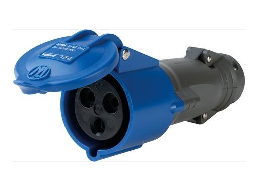LEGRAND • HYPRA Fiche femelle bleu 2P+T 16A 230V IP44