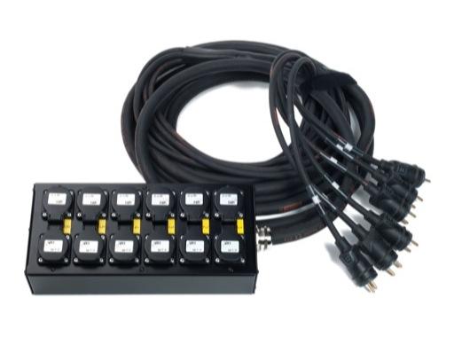 MULTIPAIRE • 20 mètres / 13G2,5 / 6 Circuits/50445=>KILT350