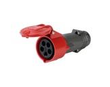 LEGRAND • HYPRA Fiche femelle rouge 3P+N+T 16A 400V IP44