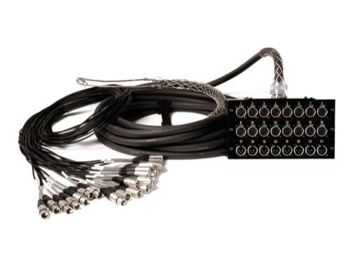Multi PRO 16/8 • 10m XLRs->boitiers+mesh