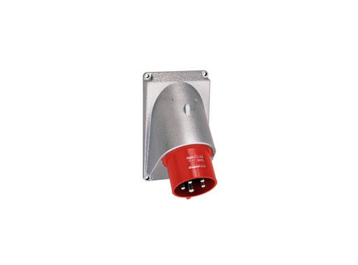 LEGRAND • HYPRA Embase mâle rouge inclinée 3P+N+T 32A 400V