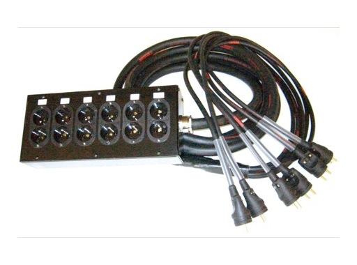 MULTIPAIRE • 5 m/18G2,5/6 Circuits/50445=>KILT350/6 K501