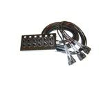 MULTIPAIRE • 10m/18G2,5/6 Circuits/50445=>KILT350/6 K501-cablage