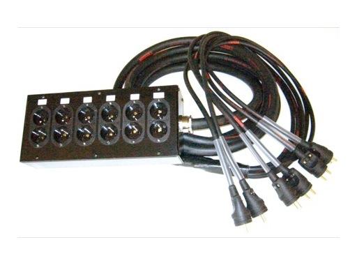 MULTIPAIRE • 25 m/18G2,5/6 Circuits/50445=>KILT350/6 K501