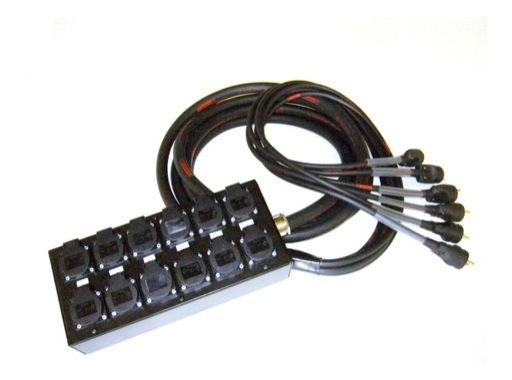 MULTIPAIRE • 5 mètres / 18G2,5 / 6 Circuits / 50445=>KILT350