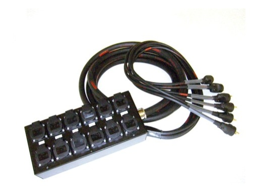 MULTIPAIRE • 20 mètres / 18G2,5 / 6 Circuits/50445=>KILT350