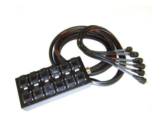 MULTIPAIRE • 25 mètres / 18G2,5 / 6 Circuits/50445=>KILT350