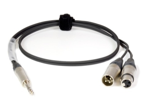 CABLE SPEC • 1m NP3X = NC3MX(Ring en 2)+NC3FX(Tip en 2)