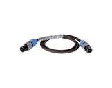 CABLE • HP noir 10 m - 2 x 1,5mm2 - NL2FX et NL2FX