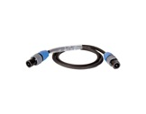 CABLE • HP PRO noir 2,5 m - 2 x 4mm2 - NL2FX et NL2FX-cablage
