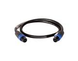 CABLE • HP noir 1 m - 4 x 2,5mm2 - NL4FX et NL4FX-cables-haut-parleurs