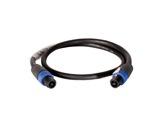 CABLE • HP noir 2,5 m - 4 x 2,5mm2 - NL4FX et NL4FX-cables-haut-parleurs