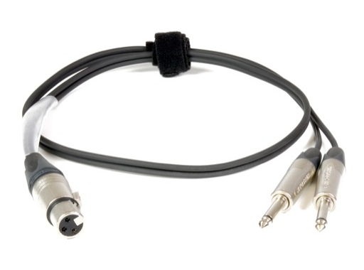 CABLE INSERT • 1m NC3FXX = 2 x NP2X (chaud=tip1,froid=tip2)